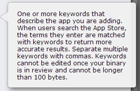 App Store Keywords